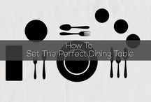 Helpmebuild.com - How To Set the Perfect Dining Table