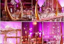 wedding decorated