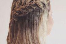 Плетение коротких волос