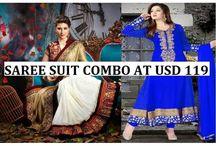 Saree Lehenga Salwar Combo Discount Offer