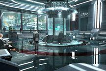 Interiors - Futuristic