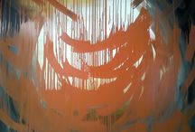 Abstract and colorful / Abstract paintings created for the facemotions portraits