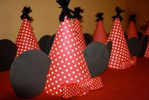Mickey/Minnie Birthday Party Ideas / by Diane Ledford