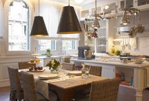 Kitchen / Ideas for kitchen décor and storage/organization / by Robyn Brennaman