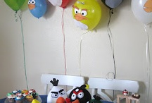 angry bird-thday party