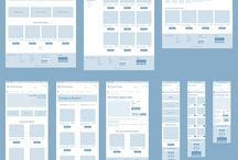Wireframes / Web design