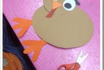 Kindergarten Thanksgiving...