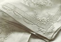 Antique linon and lace