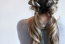 Extetions hair