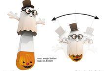 Halloween papercraft