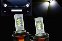 2PCS H15 80W CREE LED / 2PCS H15 80W CREE LED DRL BULB AUDI GOLF MK7 WHITE XENON 6000K For SKODA