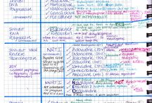 Handwritten notes study