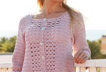 Lace jacket / Crochet