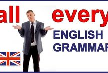 English / Grammar, examples, conversation cards