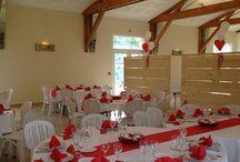 Salle de réception Beaujolais Dupeuble / Située en plein cœur des Pierres Dorées entre vignes en Coteaux et plaines, notre salle est le lieu idéal pour vos réceptions en famille ou entre amis.