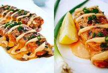 Seafood Main Dish Recipes / When beef, chicken and turkey aren't on your radar, try these seafood main dish recipes.  Some might surprise you and become one of your favorites.