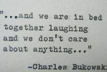 Velho buk / Quotes de um velho safado