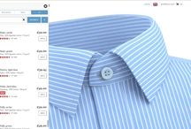 Tailor Store / Designing a made-to-measure men's shirt at Tailor Store