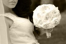 wedding paper flowers by Dianne