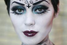 Spooky Halloween Makeup / Halloween makeup ideas Pinterest board by CreativeMeInspiredYou.com