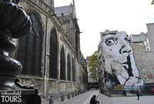 Street art in Paris / Paris has some amazing street art and here are some pictures to prove it!