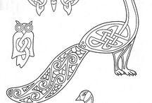 Motivy celtic aj.