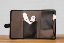 Roll Up Kit for Apple Watch / Introducing the Roll Up Kit for Apple Watch. A simple, elegant way to carry your essentials, the Roll Up Kit is made from beautiful wax canvas and full grain American leather.