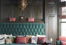 Interior Inspiration: Tartan / Taking inspiration from our Scottish roots with Tartan interior design.