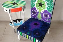 Painted Furniture / Funky Furniture / painted furniture for cool people