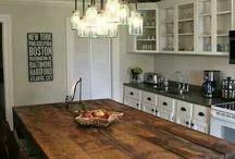 Rustikke køkkener