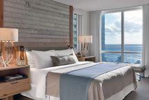 beach hotel rooms/restaurant
