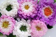 Silk flowers from Valeria Kulikova Шелковые цветы от Валерии Куликовой / Украшения из шелковых цветов