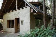 Strawbale/cob house