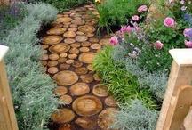 Gardens and walkways