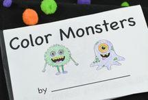 Monsters -preschool