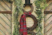 Christmas Season Inspired Entry Doors
