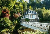 Ferienhaus / Villa mitten in Monschau, absolute Ruhiglage, individuell und stylisch möbliert