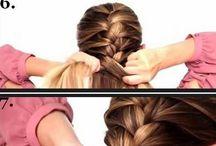 geflochtenes Haar