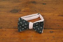 Reversible Bow Ties / It's two bow tie in one and a great way to add style to any outfit.