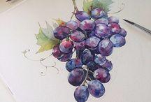 Druer og frukt