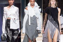 Показы на неделях моды 2017