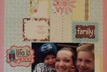 my scrapbook layouts