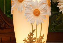 Настольные лампы,светильники и бра
