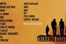 Trekking / Camping / #Trekking and #Camping are eternal part of any adventure trip or family trip into the wild. We make sure that you have all the equipment for your safety as well as enjoyment, with things like Camping Stove, Light Tents, Torches, etc.  So cook food, light a bone-fire and camp somewhere tonight, and ensure #SafetyFirst!