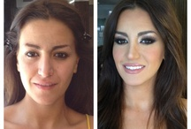 Before/After make up / Antes y despues