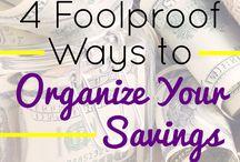 Organize your savings