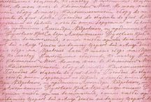 pismo odręczne i druk