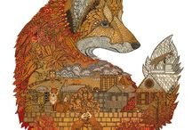 Foxes / by Willowing Arts Ltd