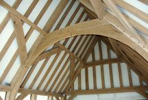 Oak roof trusses / Designs for traditional oak roof trusses