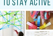 Indoor | Rainy day activities for kids / Indoor, rainy day activities for kids to keep kids active indoors